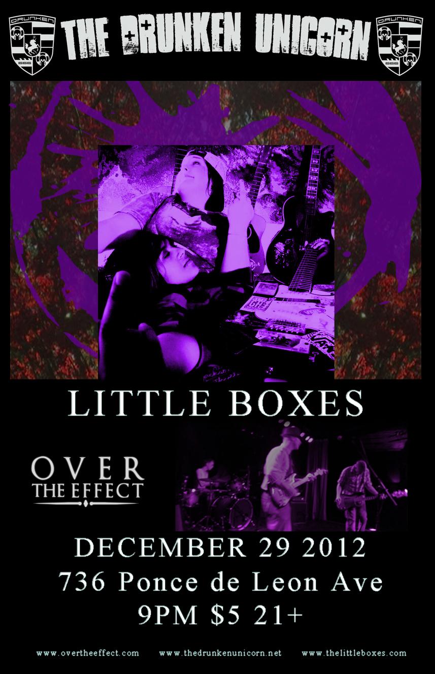 12/29/12 at The Drunken Unicorn