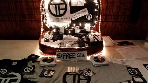 Melissa's Merch Table