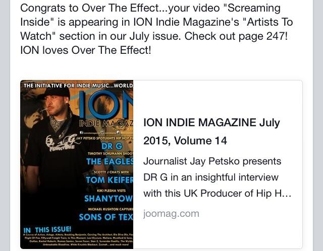 ion magazine FB posst